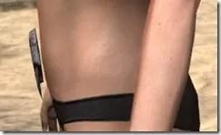 Khajiit Iron Girdle - Female Side