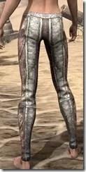 Khajiit Iron Greaves - Female Rear