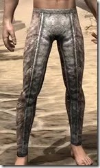 Khajiit Iron Greaves - Male Front