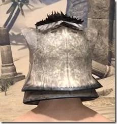 Khajiit Iron Helm - Male Rear