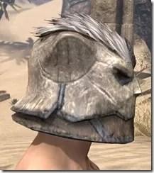 Khajiit Iron Helm - Male Right