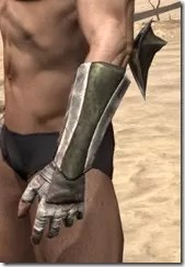 Khajiit Orichalc Gauntlets - Male Side