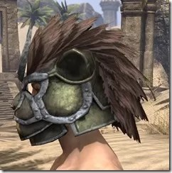 Khajiit Orichalc Helm - Male Side