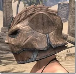 Khajiit Steel Helm - Female Side