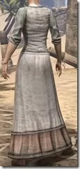 Layered Long Dress - Female Rear