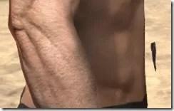 Malacath Iron Girdle - Male Rear