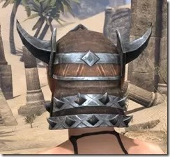 Malacath Iron Helm - Female Rear