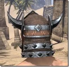 Malacath Iron Helm - Male Rear