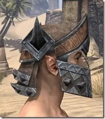 Malacath Iron Helm - Male Right