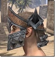 Malacath Iron Helm - Male Side