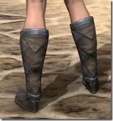 Malacath Iron Sabatons - Female Rear