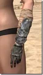 Morag Tong Iron Gauntlets - Female Side