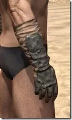 Morag Tong Iron Gauntlets - Male Right