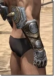 Nord Dwarven Gauntlets - Male Right
