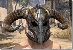 Nord Dwarven Helm - Male Front