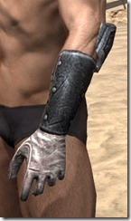 Nord Iron Gauntlets - Male Side
