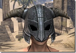 Nord Iron Helm - Female Front