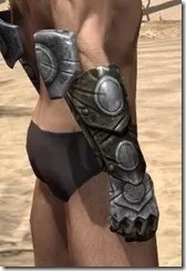 Nord Orichalc Gauntlets - Male Right