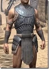 Silken Ring Iron Cuirass - Male Front