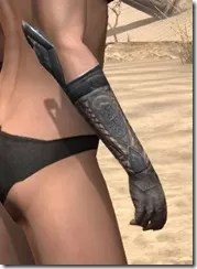 Silken Ring Iron Gauntlets - Female Right