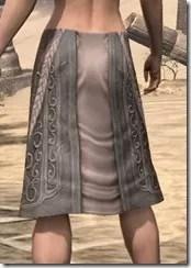 Silken Ring Iron Greaves - Female Rear