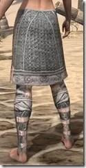 Telvanni Iron Greaves - Female Rear