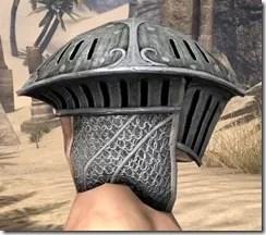 Telvanni Iron Helm - Male Right