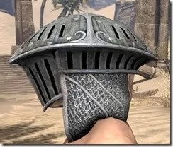 Telvanni Iron Helm - Male Side