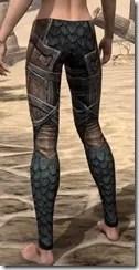Wood Elf Dwarven Greaves - Female Rear