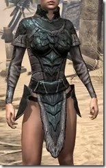 Wood Elf Orichalc Cuirass - Female Front