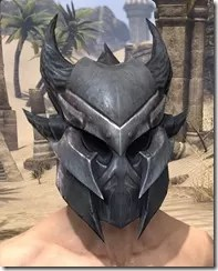 Xivkyn Iron Helm - Male Front