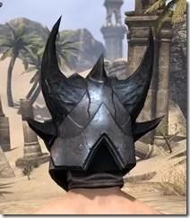 Xivkyn Iron Helm - Male Rear