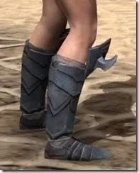 Xivkyn Iron Sabatons - Female Right