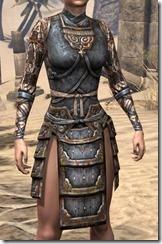 Akaviri Iron Cuirass - Female Front