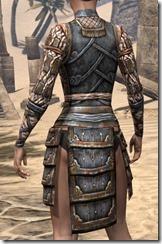 Akaviri Iron Cuirass - Female Rear