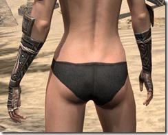 Akaviri Iron Gauntlets - Female Rear