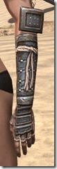 Akaviri Iron Gauntlets - Female Side