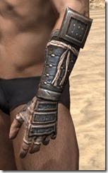 Akaviri Iron Gauntlets - Male Side