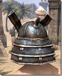Akaviri Iron Helm - Male Rear