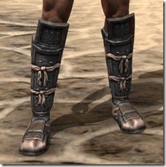 Akaviri Iron Sabatons - Male Front