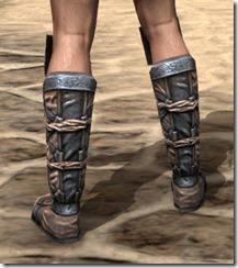 Akaviri Iron Sabatons - Male Rear