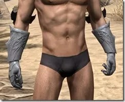 Aldmeri Dominion Iron Gauntlets - Male Front