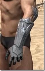 Aldmeri Dominion Iron Gauntlets - Male Side