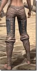 Aldmeri Dominion Iron Greaves - Female Rear