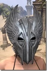Aldmeri Dominion Iron Helm - Female Front