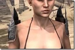 Aldmeri Dominion Iron Pauldron - Female Front