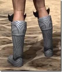 Aldmeri Dominion Iron Sabatons - Male Rear