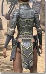 Ancient Elf Iron Cuirass - Female Rear