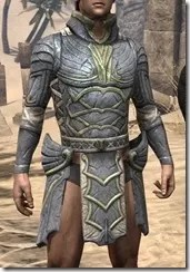 Ancient Elf Iron Cuirass - Male Front