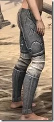 Ancient Elf Iron Greaves - Female Right
